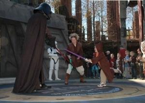 Wesley Fights Vader